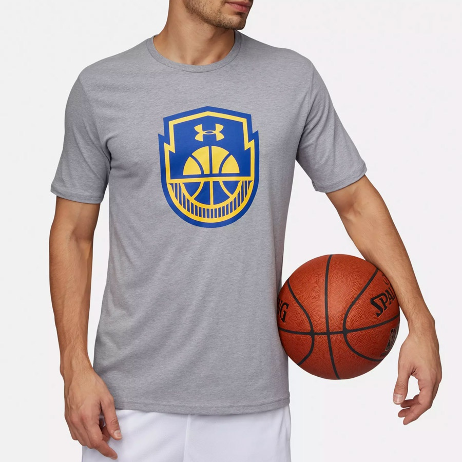 Koszulka UA Basketball Icon SS 1305711 035