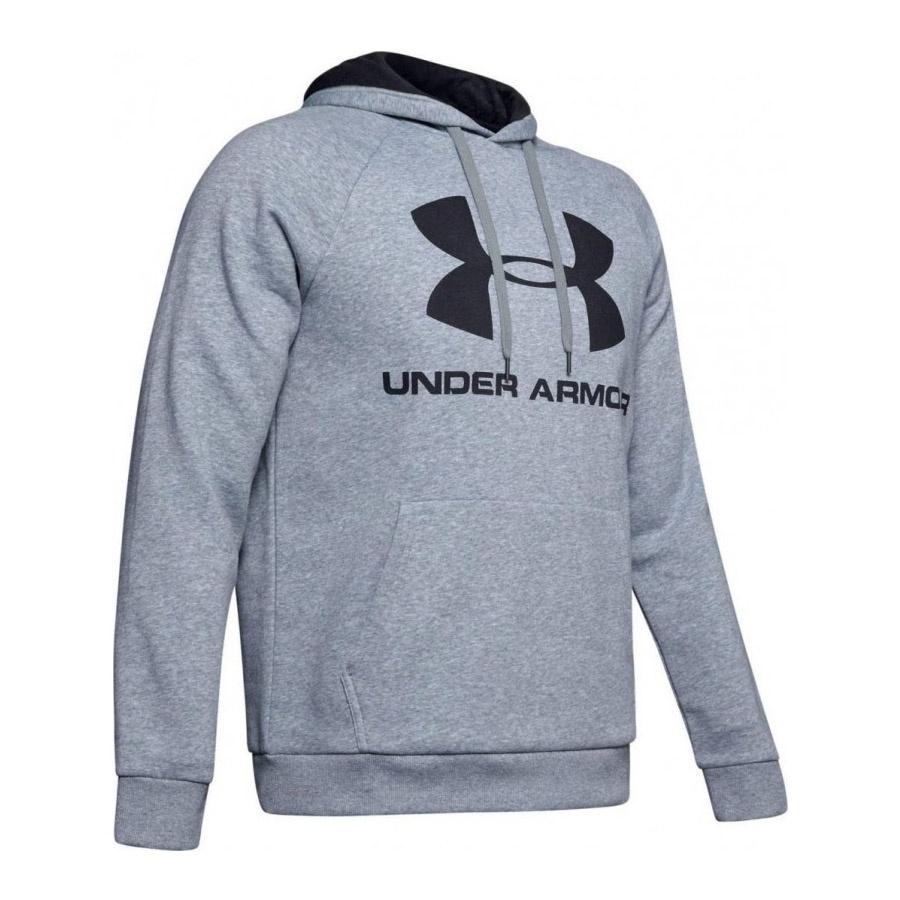 Bluza UA Rival Fleec Sportstyle Logo Hoddie 1345628 035