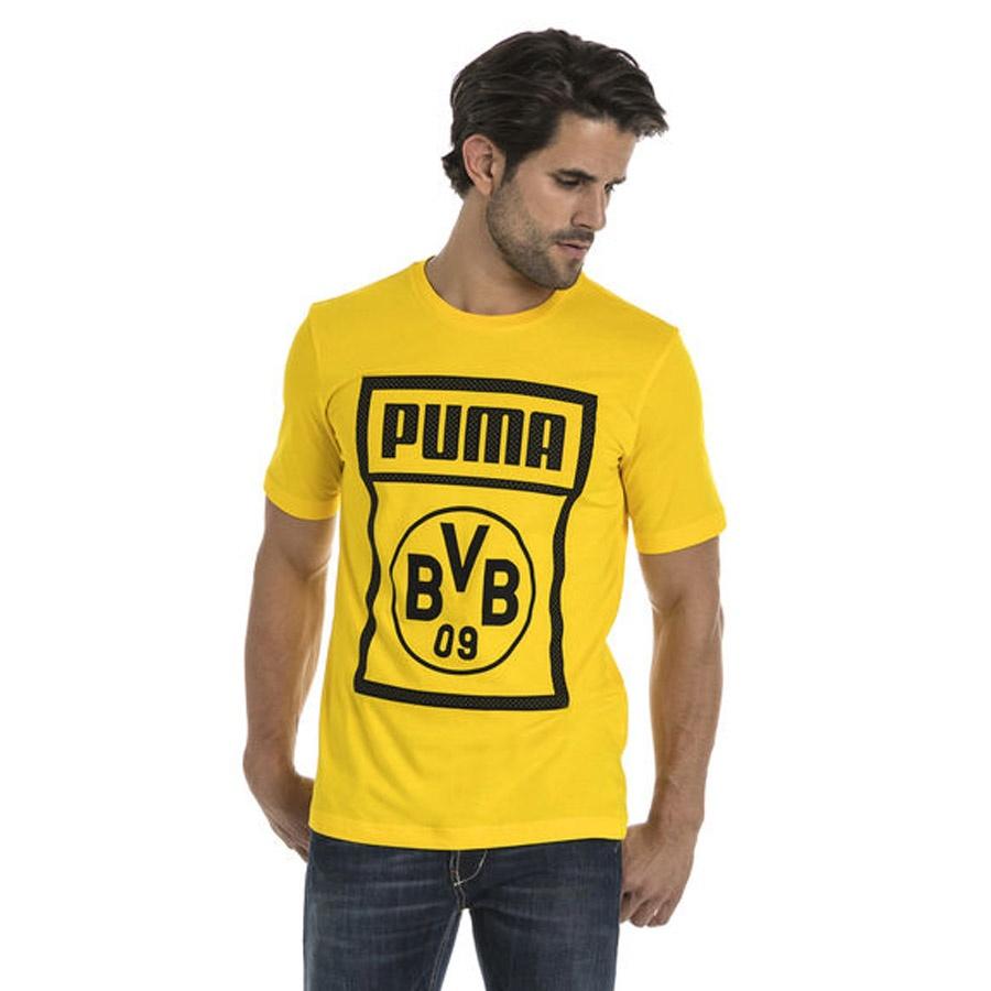 Koszulka Puma BVB Shoe Tag Tee 754057 01