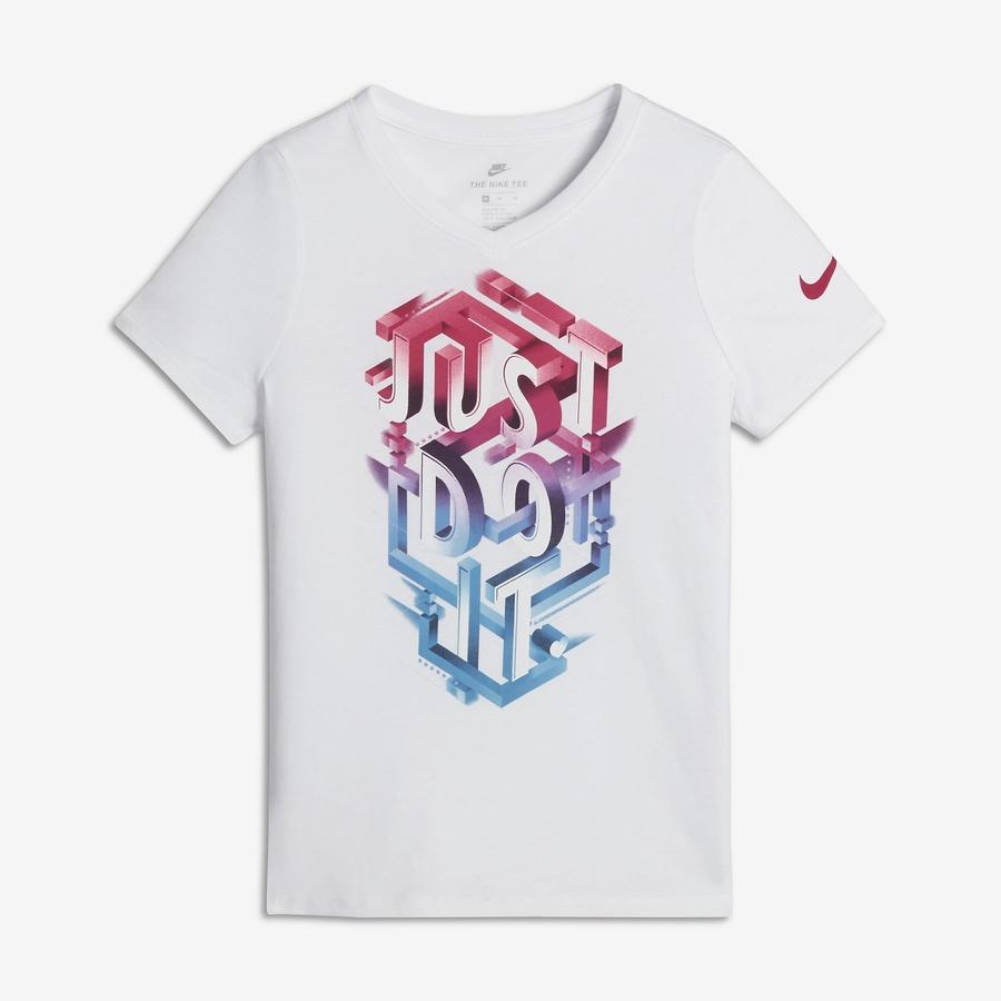 Koszulka Nike G NSW Tee JDI POP Mezzo 862682 100