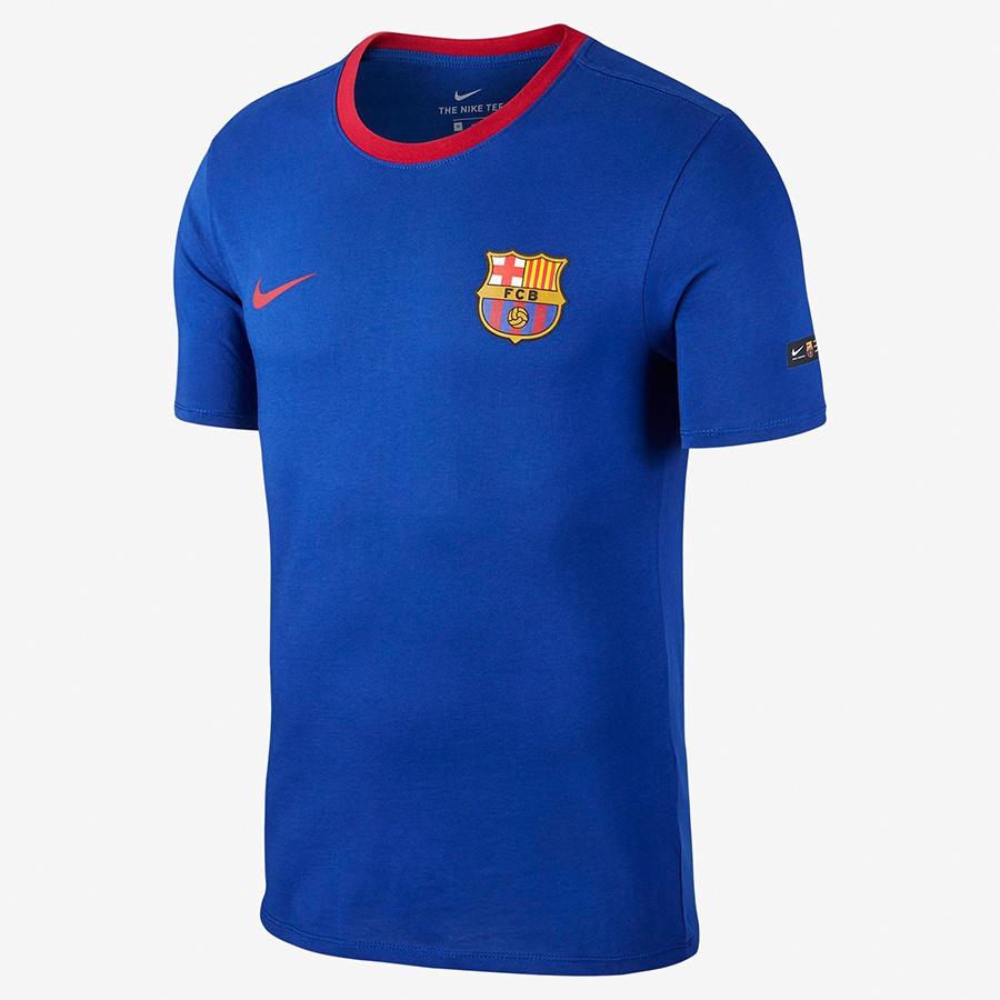 Koszulka FCB M NK Tee Crest 888801 455