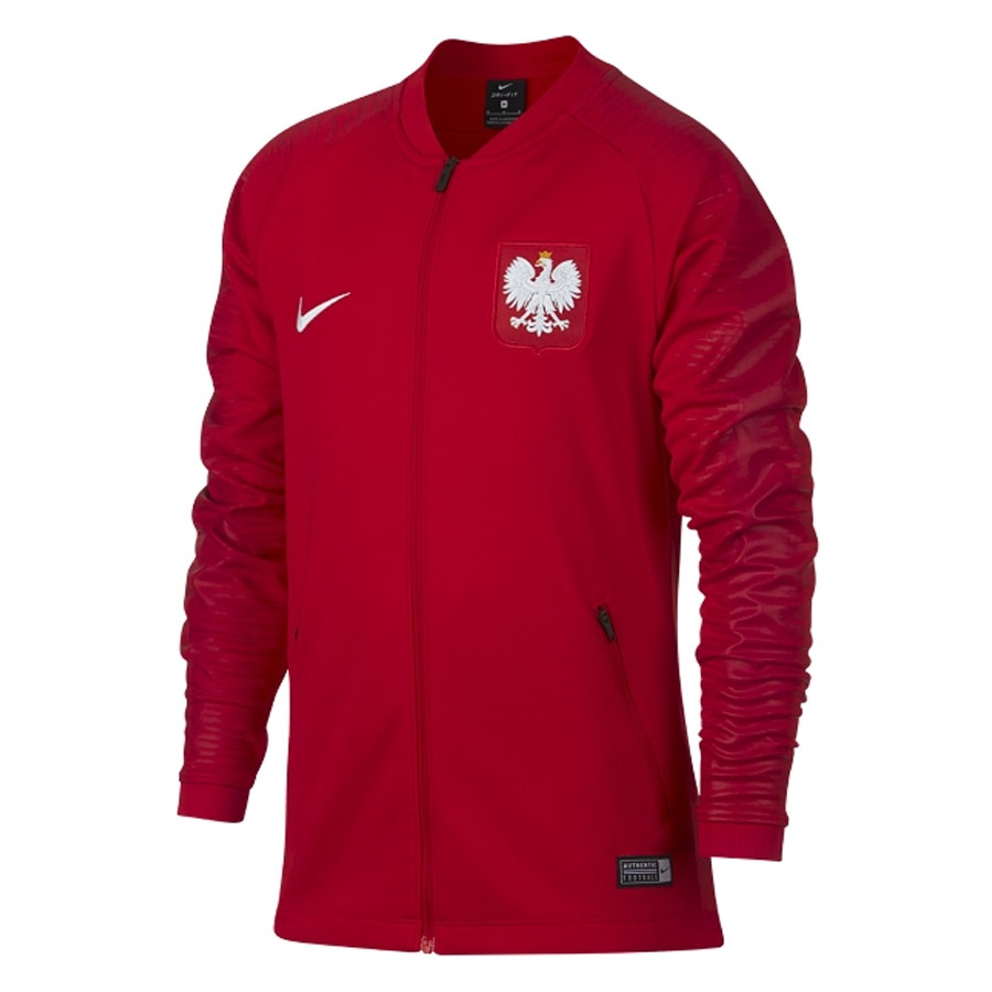 Bluza Nike Poland POL Y NK SQD JKT Anthem 893848 611