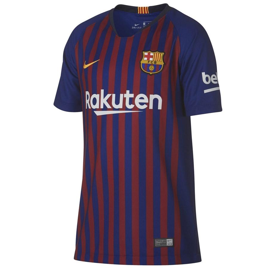 Koszulka Nike FCB Y NK BRT STAD JSY SS HM 89458 456