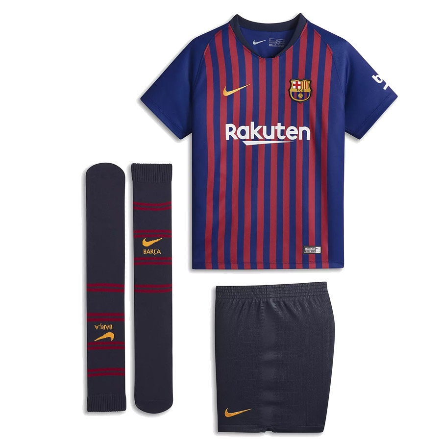 aac287a0a Zestaw Nike Breathe FC Barcelona Home 894479 456 • futbolsport.pl