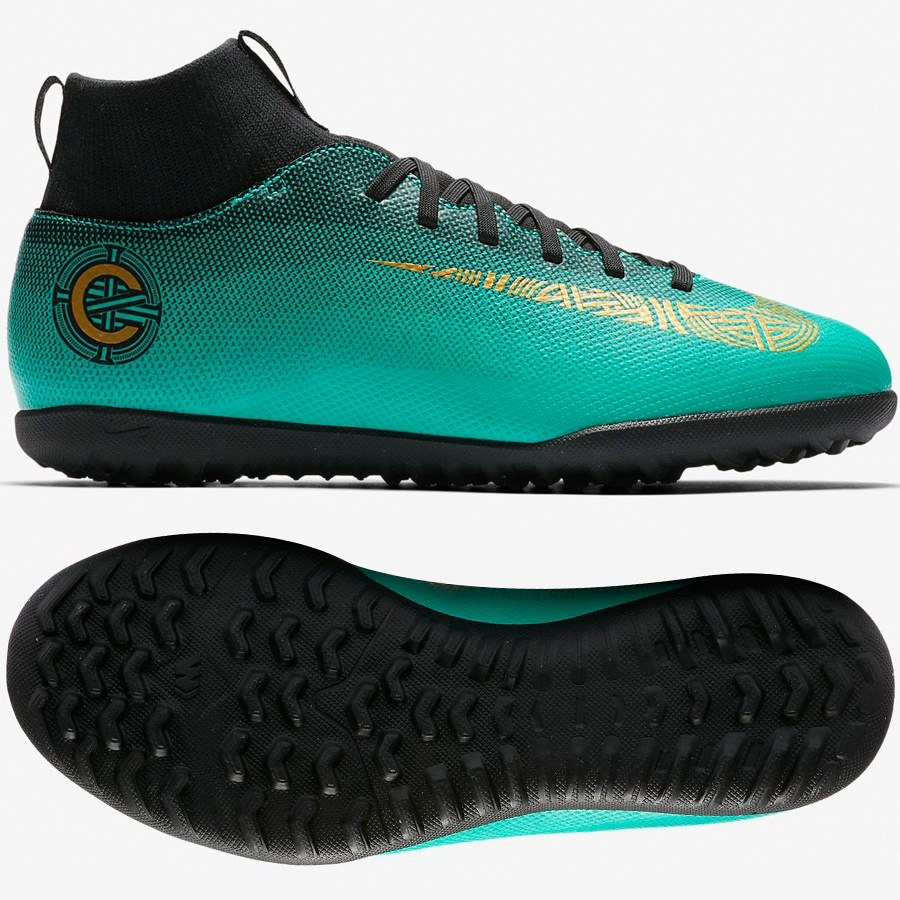 Buty Nike JR Mercurial SuperflyX 6 Club CR7 TF AJ3088 390