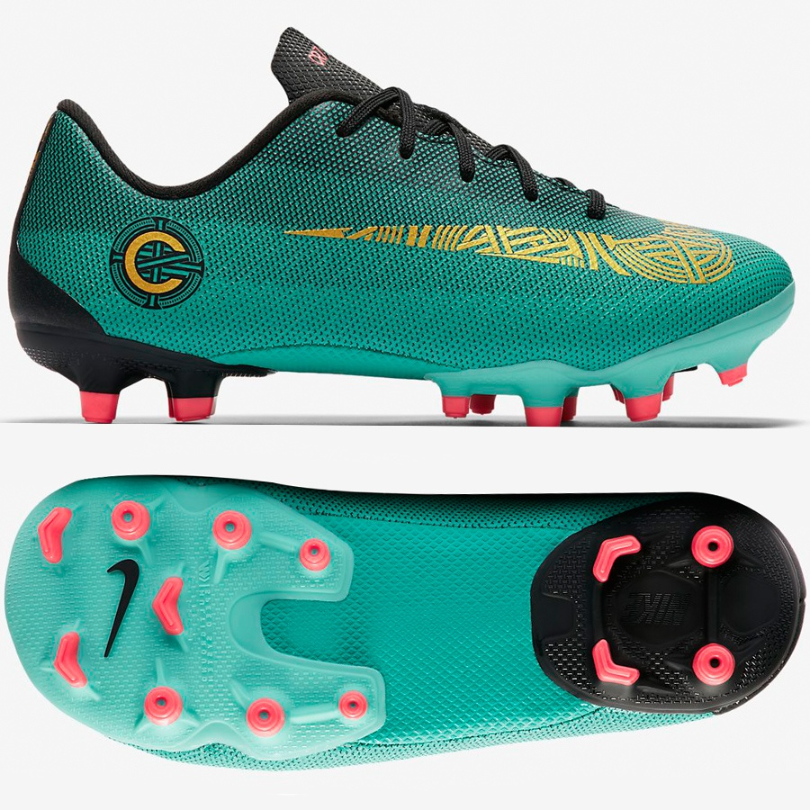 Buty Nike JR Mercurial Vapor 12 Academy PS CR7 MG AJ3090 390