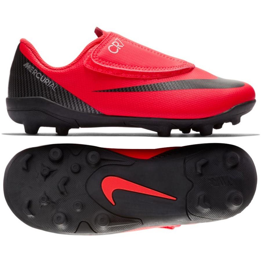 Buty Nike JR Mercurial Vapor 12 Club PS V CR7 MG AJ3096 600