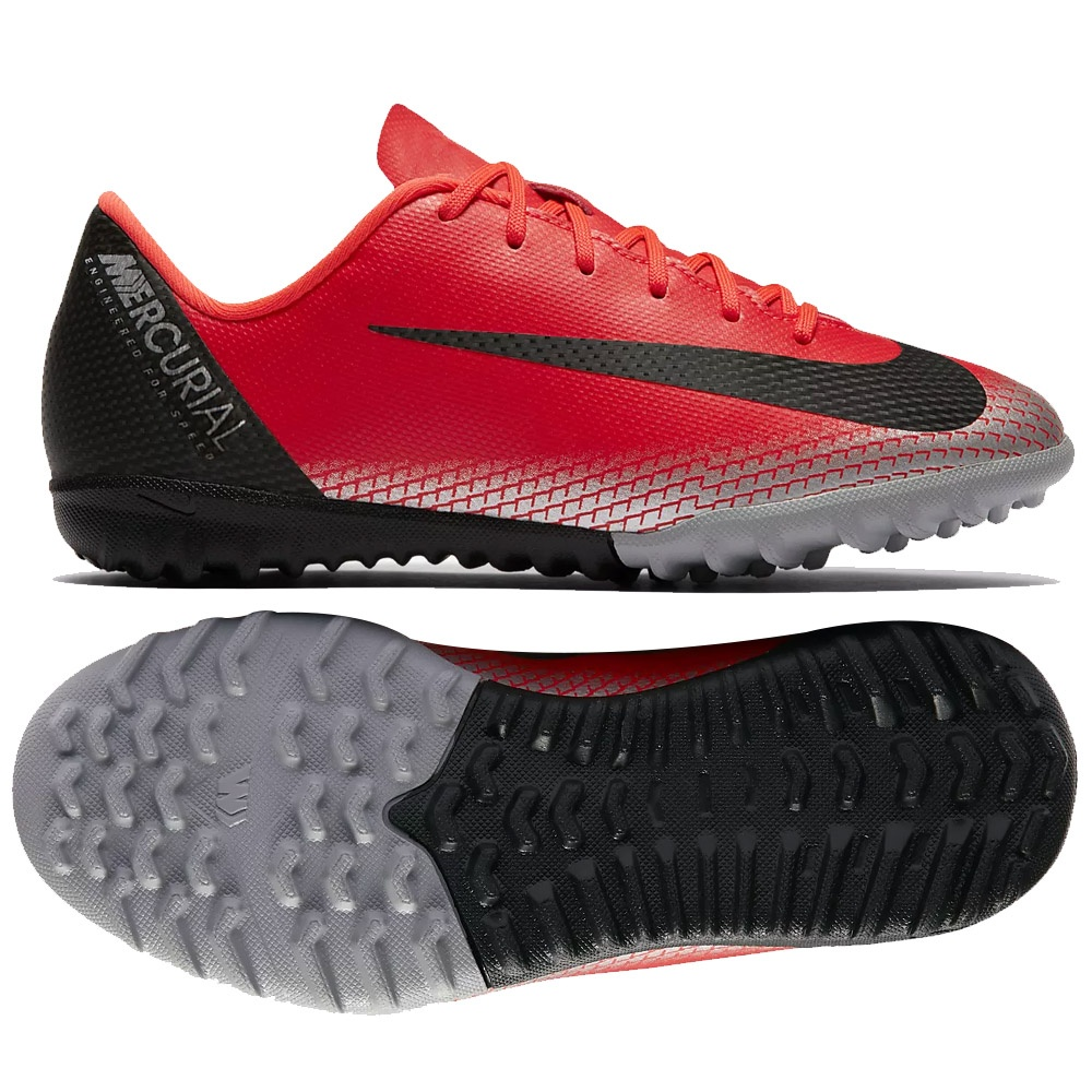 Buty Nike JR Mercurial VaporX 12 Academy CR7 TF AJ3100 600