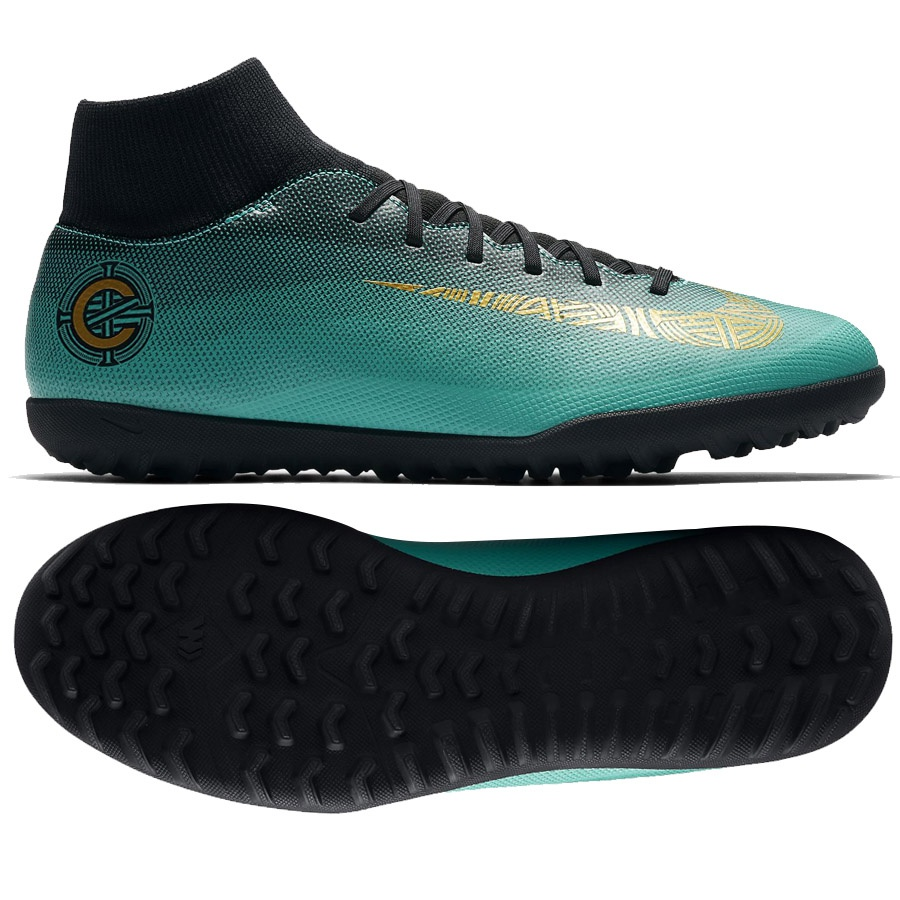 Buty Nike Mercurialx 6 Club CR7 TF AJ3570 390