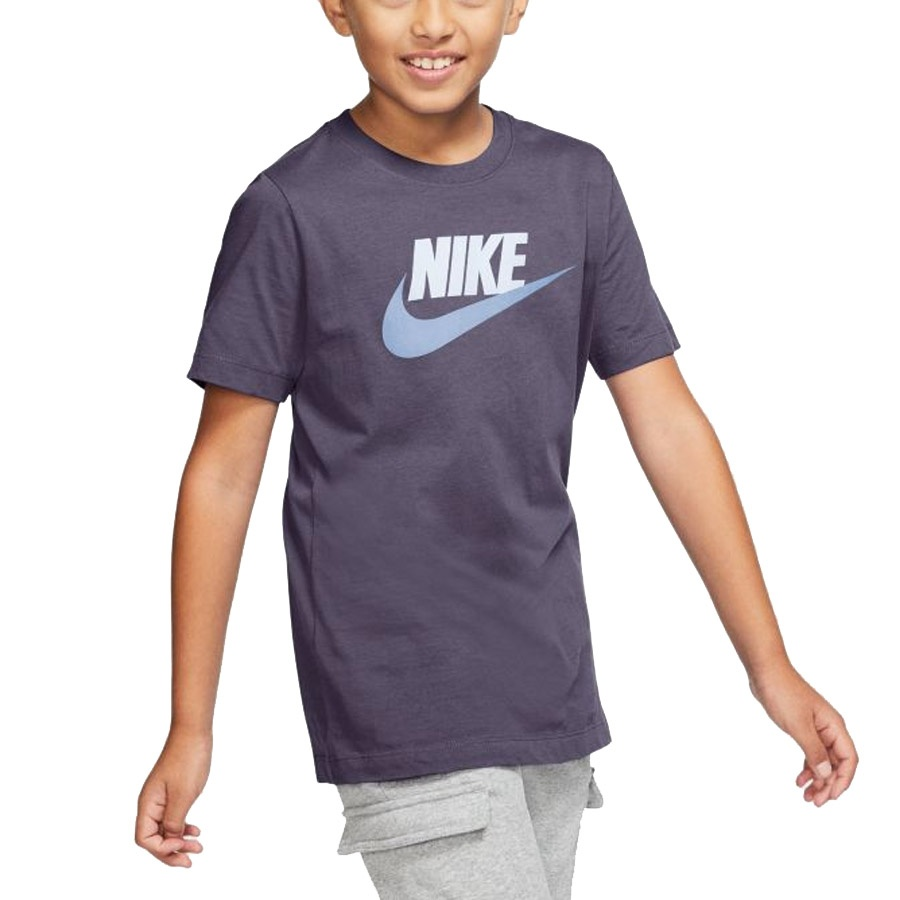 Koszulka Nike Sportswear Big Kids' Cotton T-Shirt AR5252 573