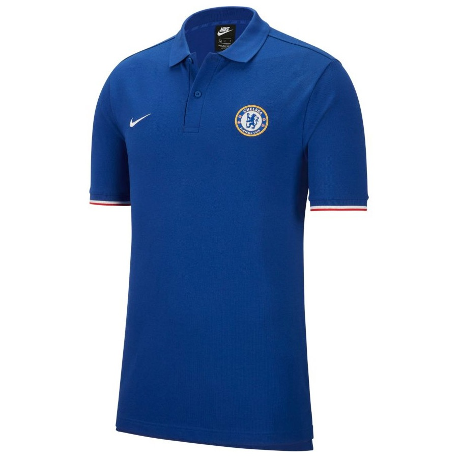 Koszulka Polo Nike Chelsea FC M NSW Polo Crest AT4458 495