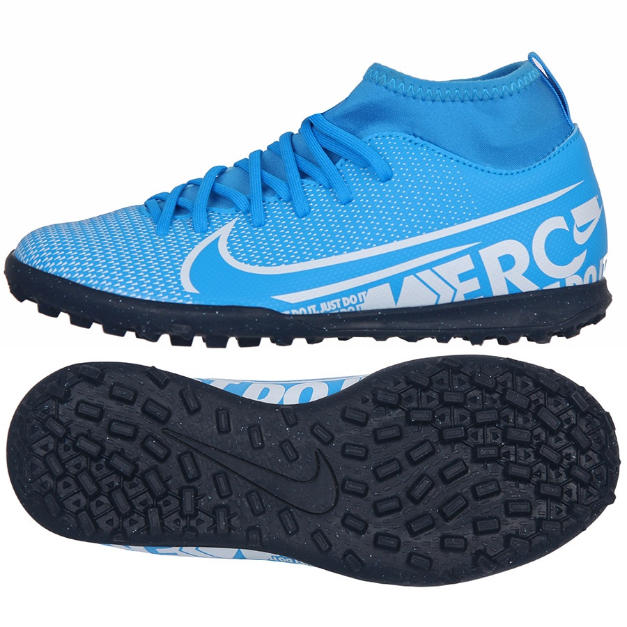 Buty Nike JR Mercurial Superfly 7 Club TF AT8156 414