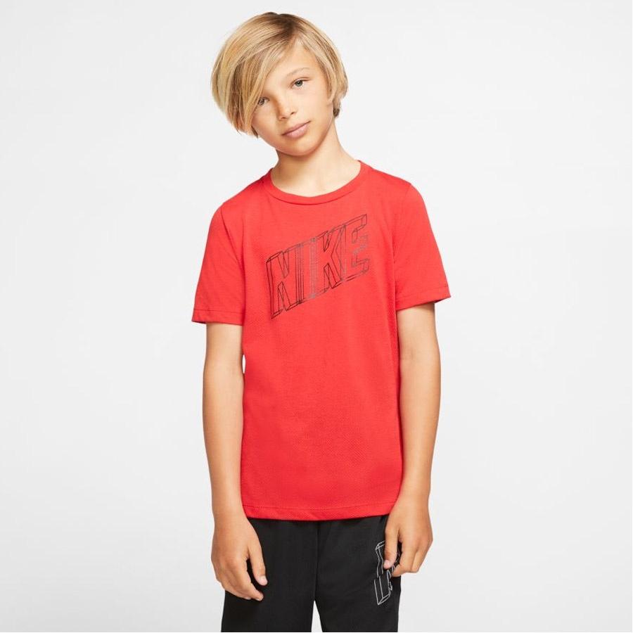 Koszulka Nike B Nk Brthe Gfx Ss Top BV3804 657