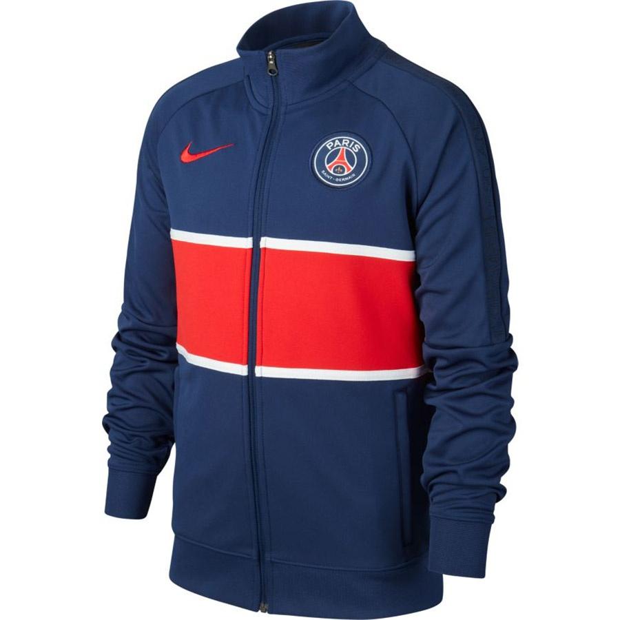 Bluza Nike PSG Y Anthem TRK JKT CI9281 410