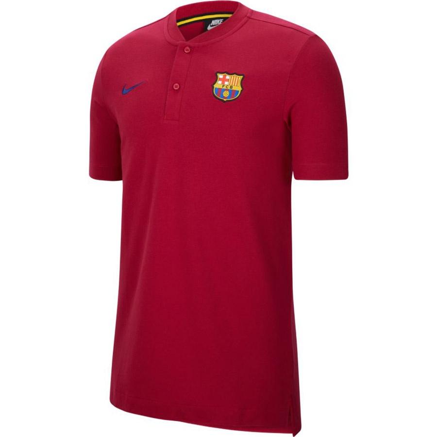 Koszulka polo Nike FC Barcelona M NSW MODERN GSP AUT  CK9330 620
