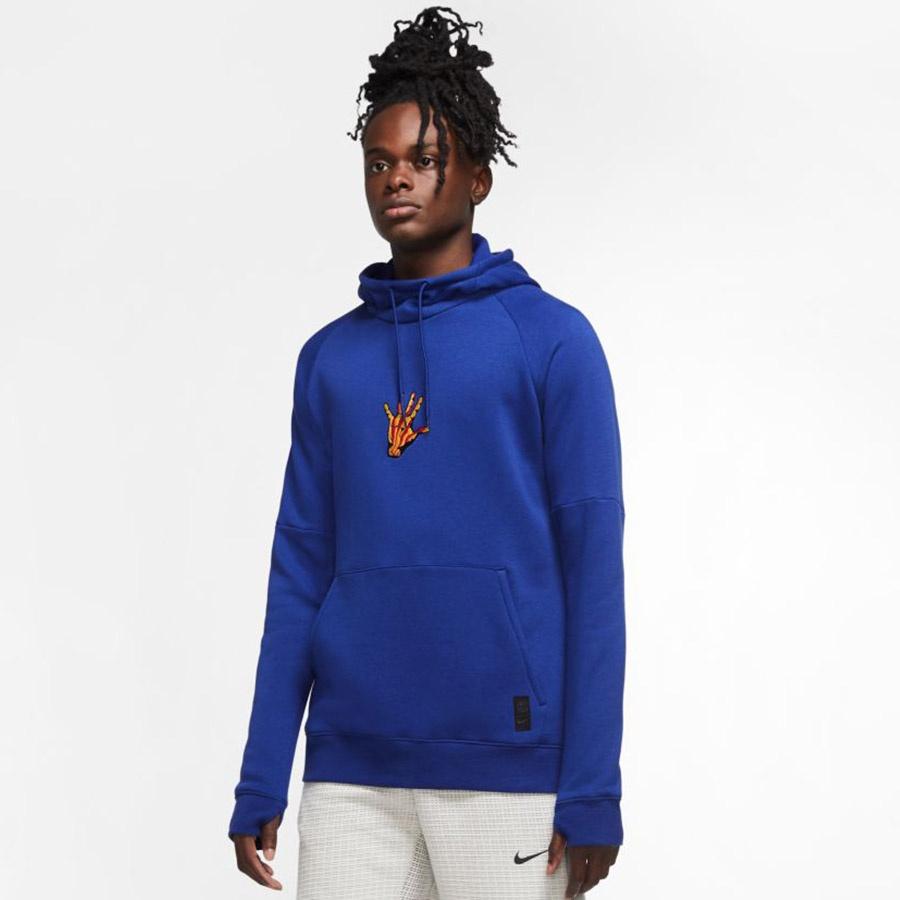 Bluza piłkarska Nike FC Barcelona Soccer Hoodie CN0920 455