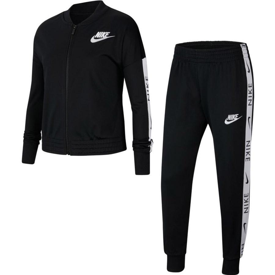 Dres Nike Sportswear Girls Tracksuit CU8374 010