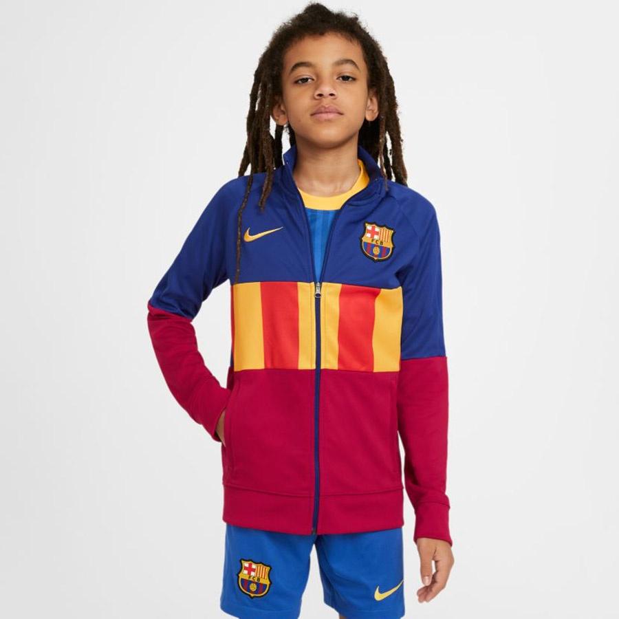 Bluza Nike FC Barcelona Anthem Soccer Jacket CV4670 455