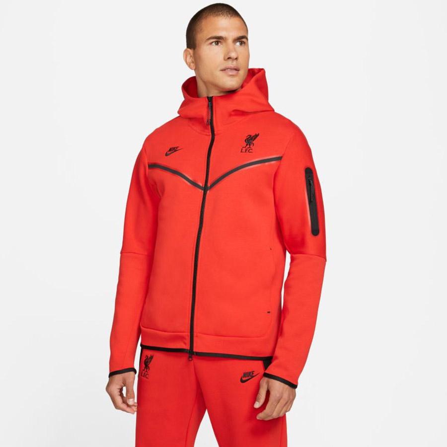 Bluza Nike Liverpool FC Tech Fleece Windrunner DD9716 612