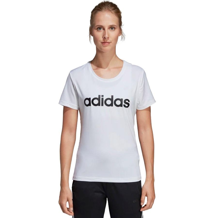 Koszulka adidas W D2M LO Tee DU2080