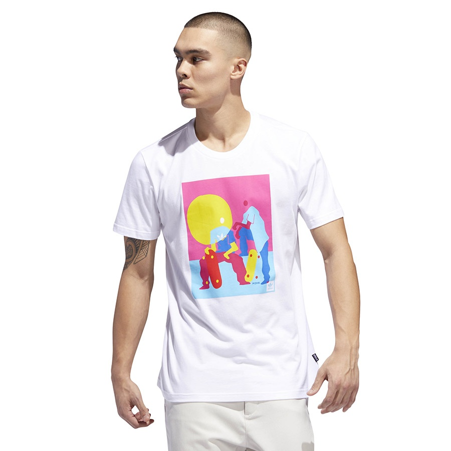 Koszulka adidas Originals Burrage Tee DU8345