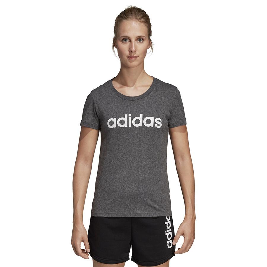 Koszulka adidas W E Linear Slim Tee SX2546