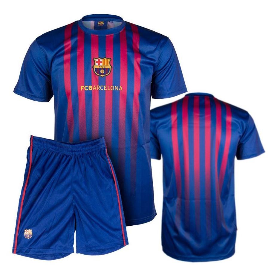 Komplet piłkarski JR FC Barcelona pasy licencja