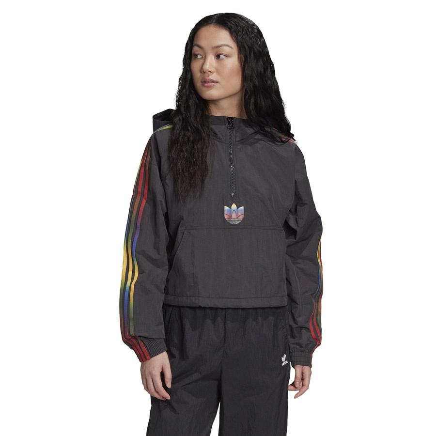 Bluza adidas Originals Adicolor Half-Zip Crop Top GD2262