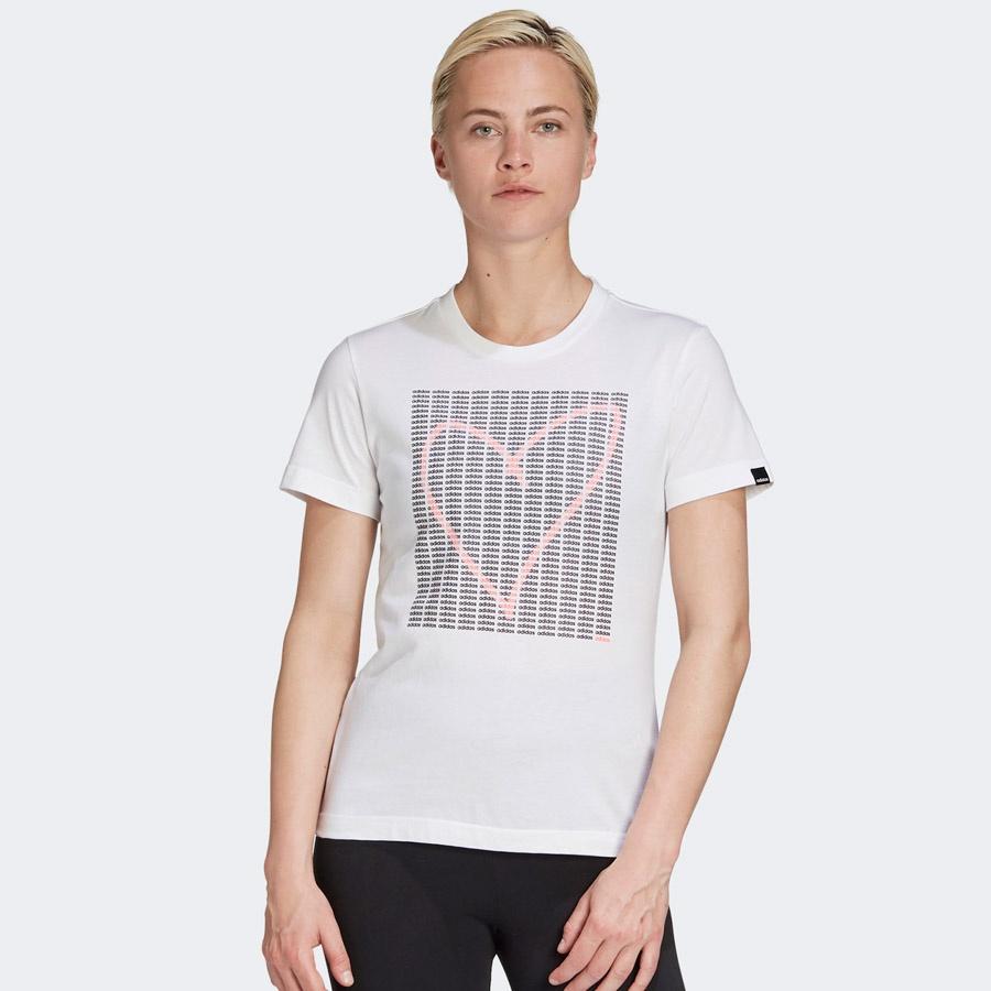 Koszulka adidas W ADI HEART T GD4996