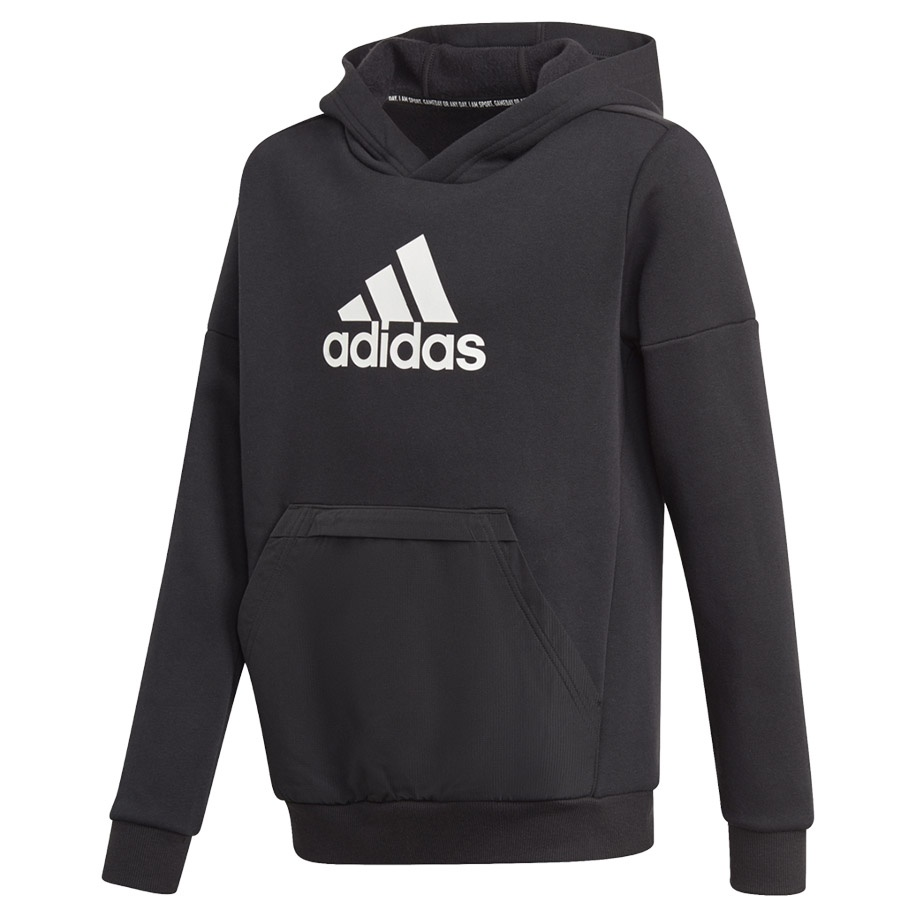 Bluza adidas Boys Badge of Sport Fleece Hoodie GJ6675