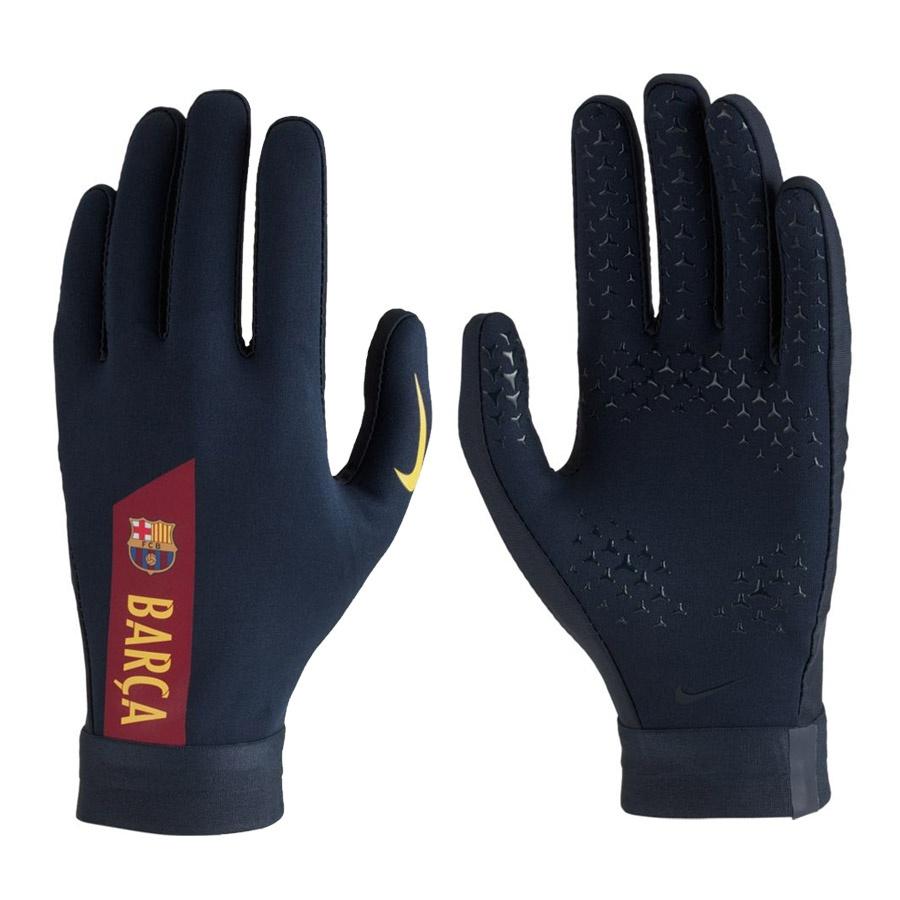 Rękawiczki piłkarskie Nike Fc Barcelona Hyperwarm Academy Gloves GS0379 451