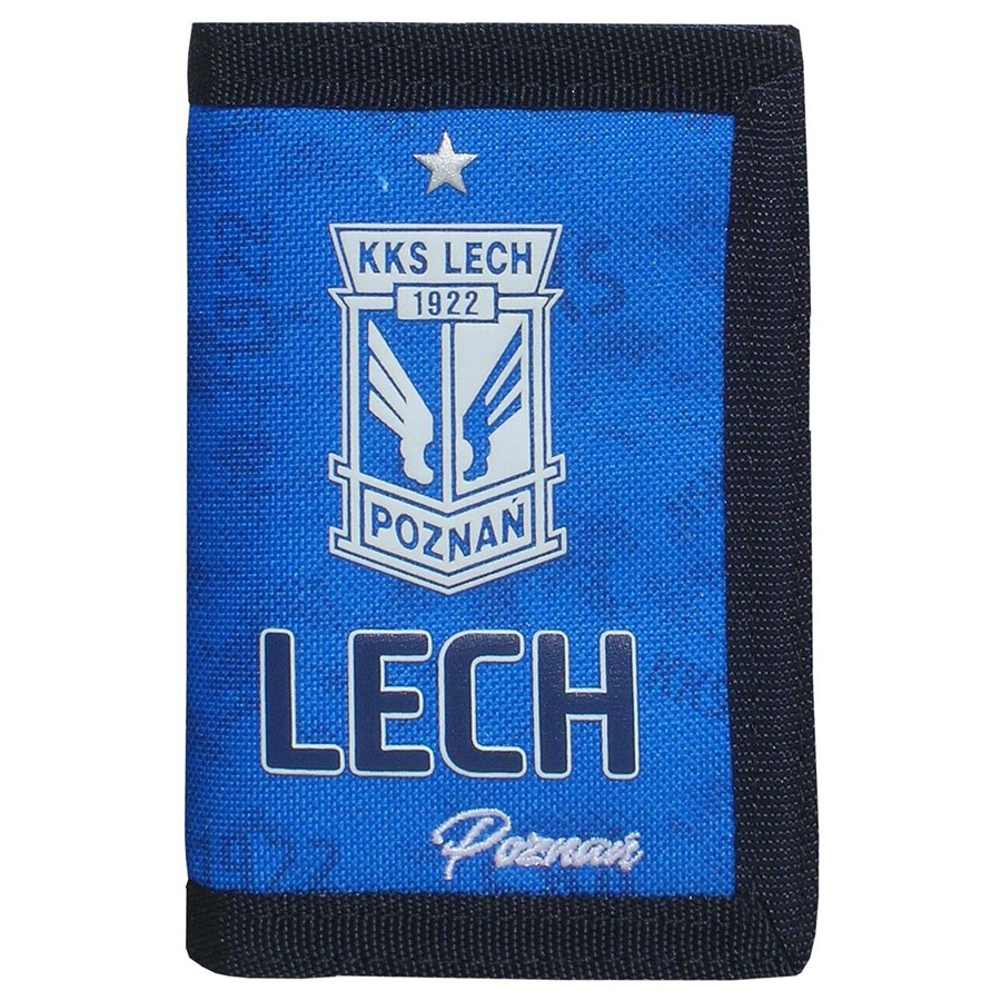 Portfel Lech Niebieski BS