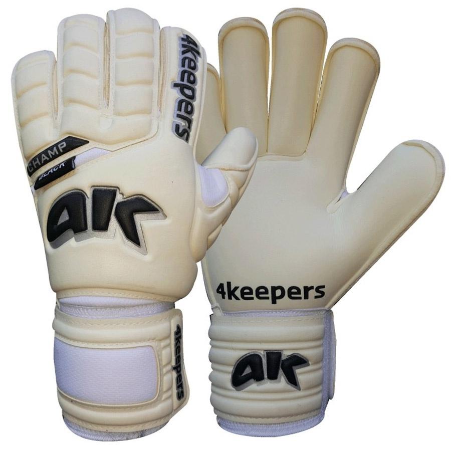 Rękawice 4Keepers Champ Black RF III + płyn czyszczący S494326