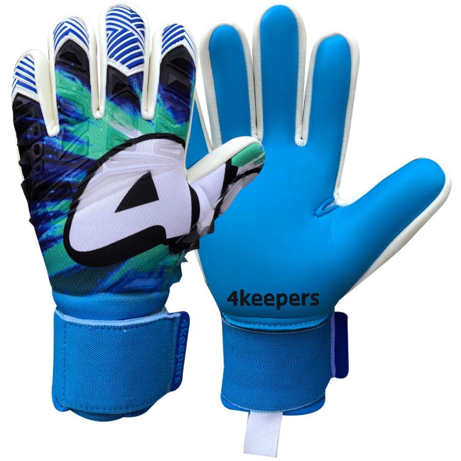 Rękawice 4keepers Evo Nettuno Negative Cut + płyn czyszczący S558771