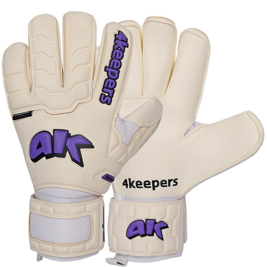 Rękawice 4keepers Champ Purple IV RF + płyn czyszczący