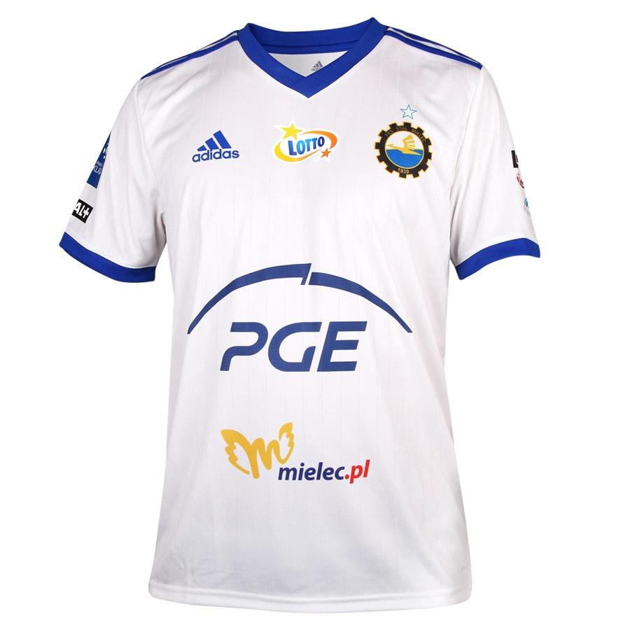 Koszulka meczowa Stal Mielec biała 2020/2021 S688427