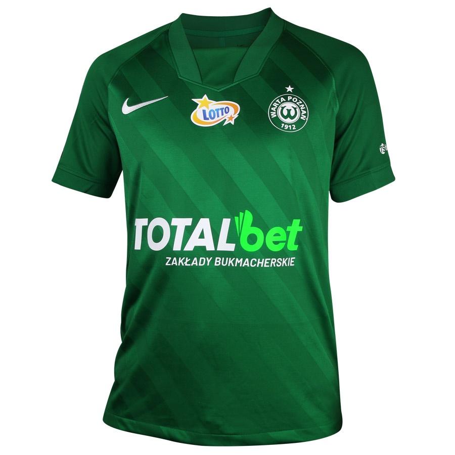 Koszulka meczowa JR Warta Poznań zielona S694564
