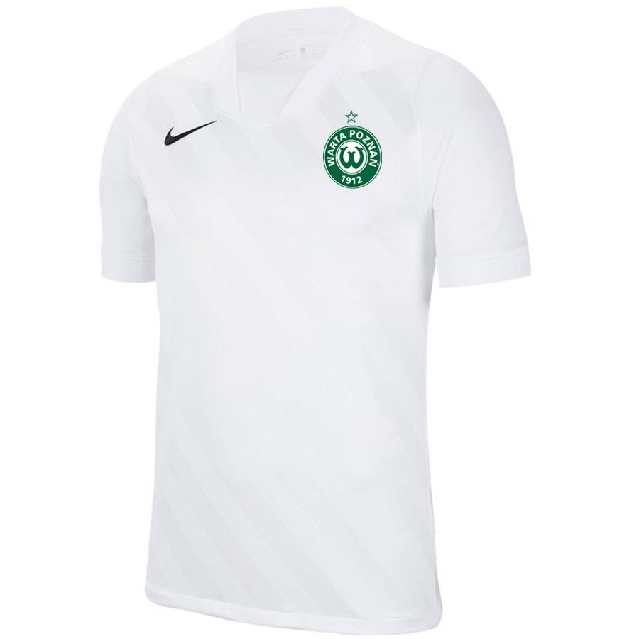 Koszulka meczowa Warta Poznań HERB biała S705012