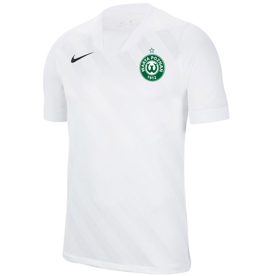 Koszulka meczowa JR Warta Poznań HERB biała S705026