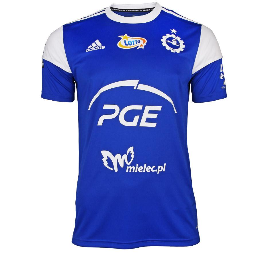 Koszulka meczowa adidas Jr Stal Mielec 2021/22 Squadra S757008 niebieska
