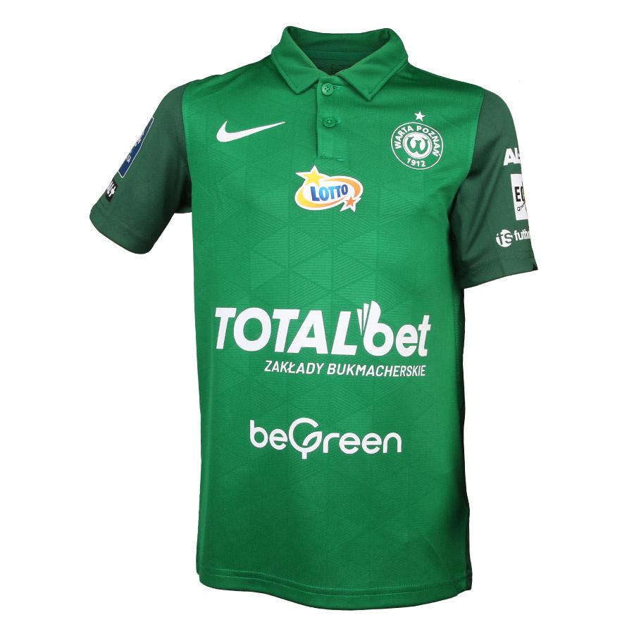 Koszulka meczowa Jr Warta Poznań 2021/22 zielona
