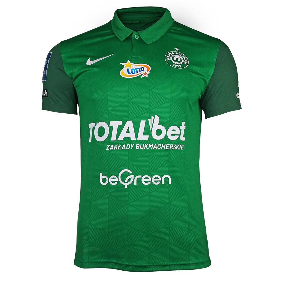 Koszulka meczowa Warta Poznań 2021/22 zielona S762617