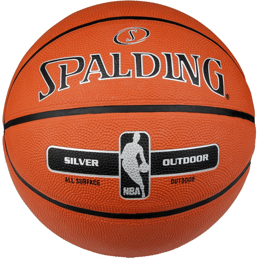 Piłka Spalding NBA Silver