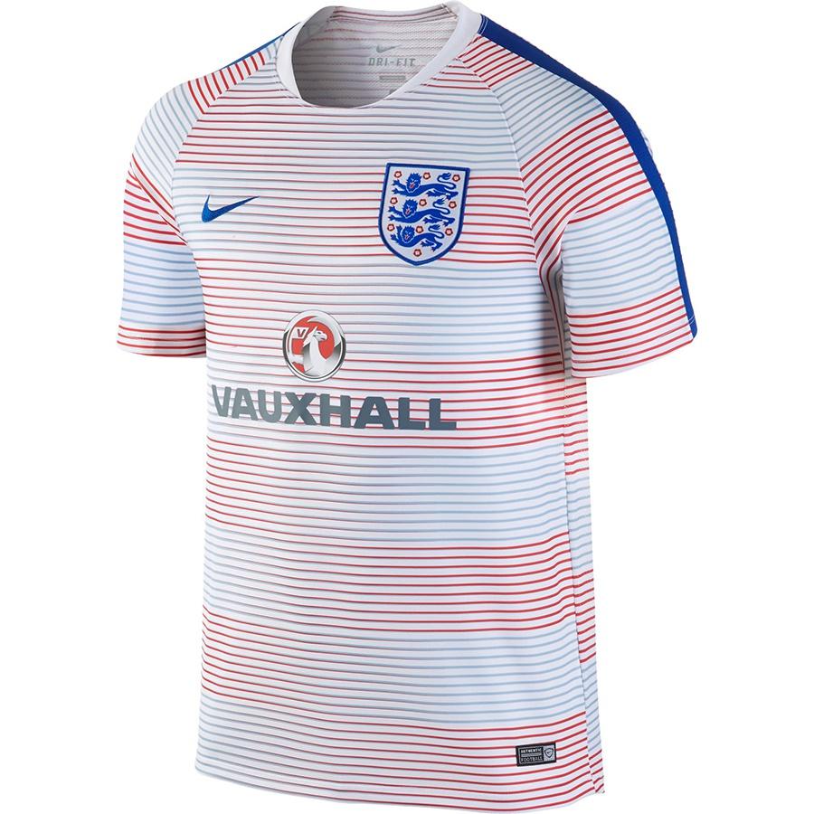 Koszulka Nike England Pre-Match Training II 725313 101