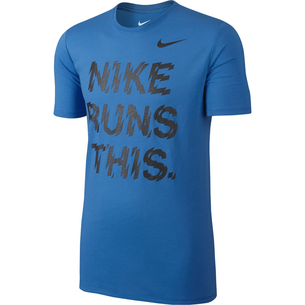T-Shirt Nike Run This Tee 778345 406