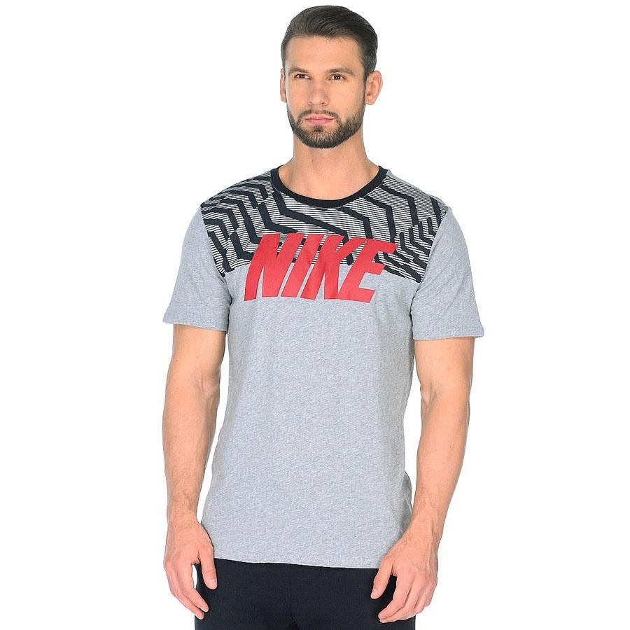 Koszulka Nike M NSW Tee Rag SWSH PLS BLK 856500 063