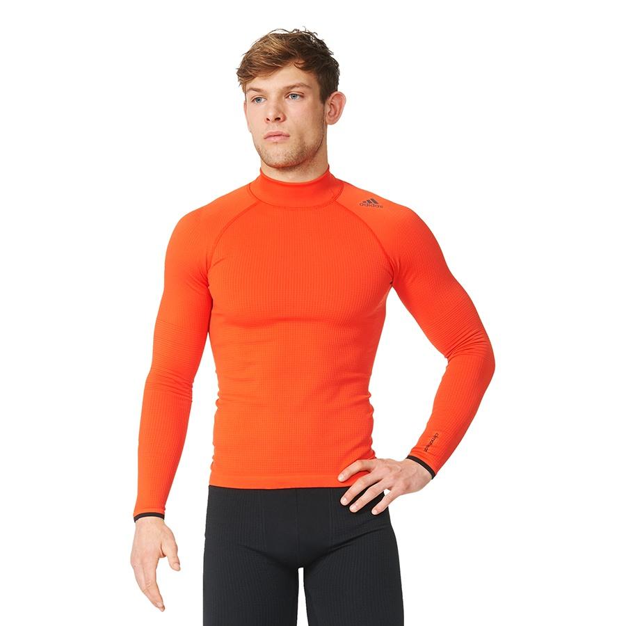 Koszulka adidas Techfit Heat Long Sleeve Mock AY3765