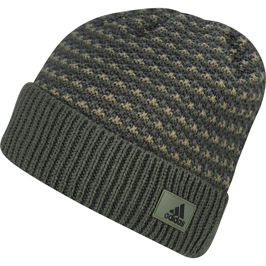 Czapka adidas Climaheat Striped Knit Woolie AY4916