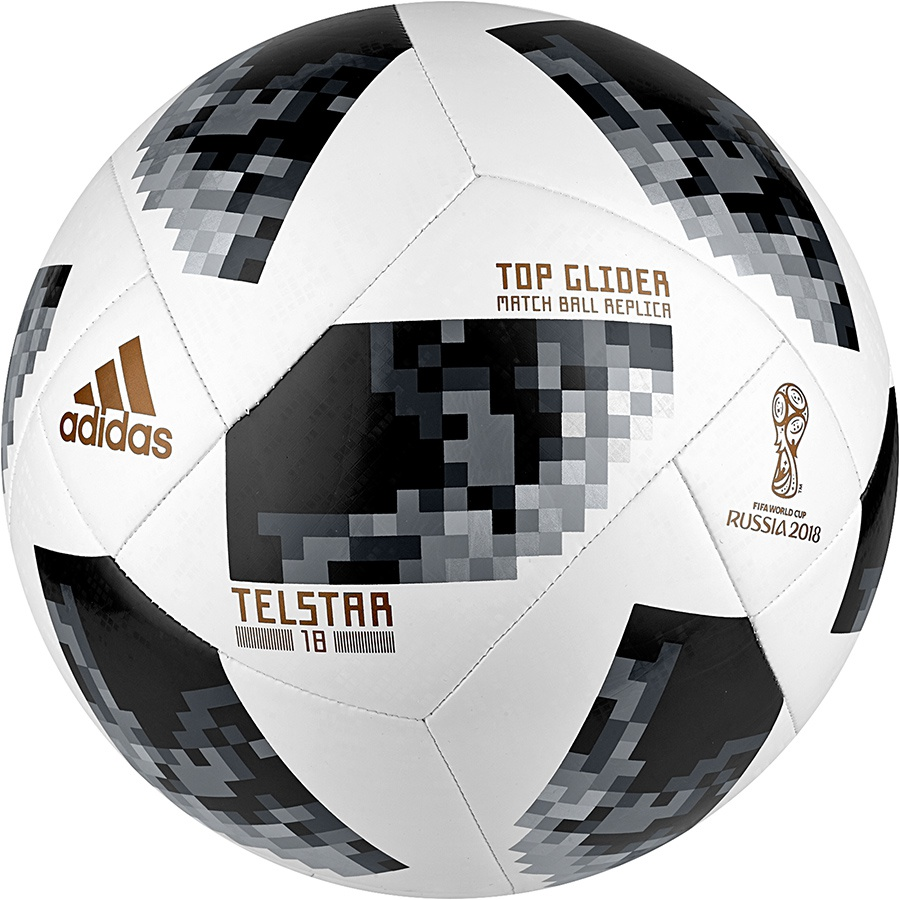 Piłka adidas Telstar World Cup 2018 Top Glider CE8096