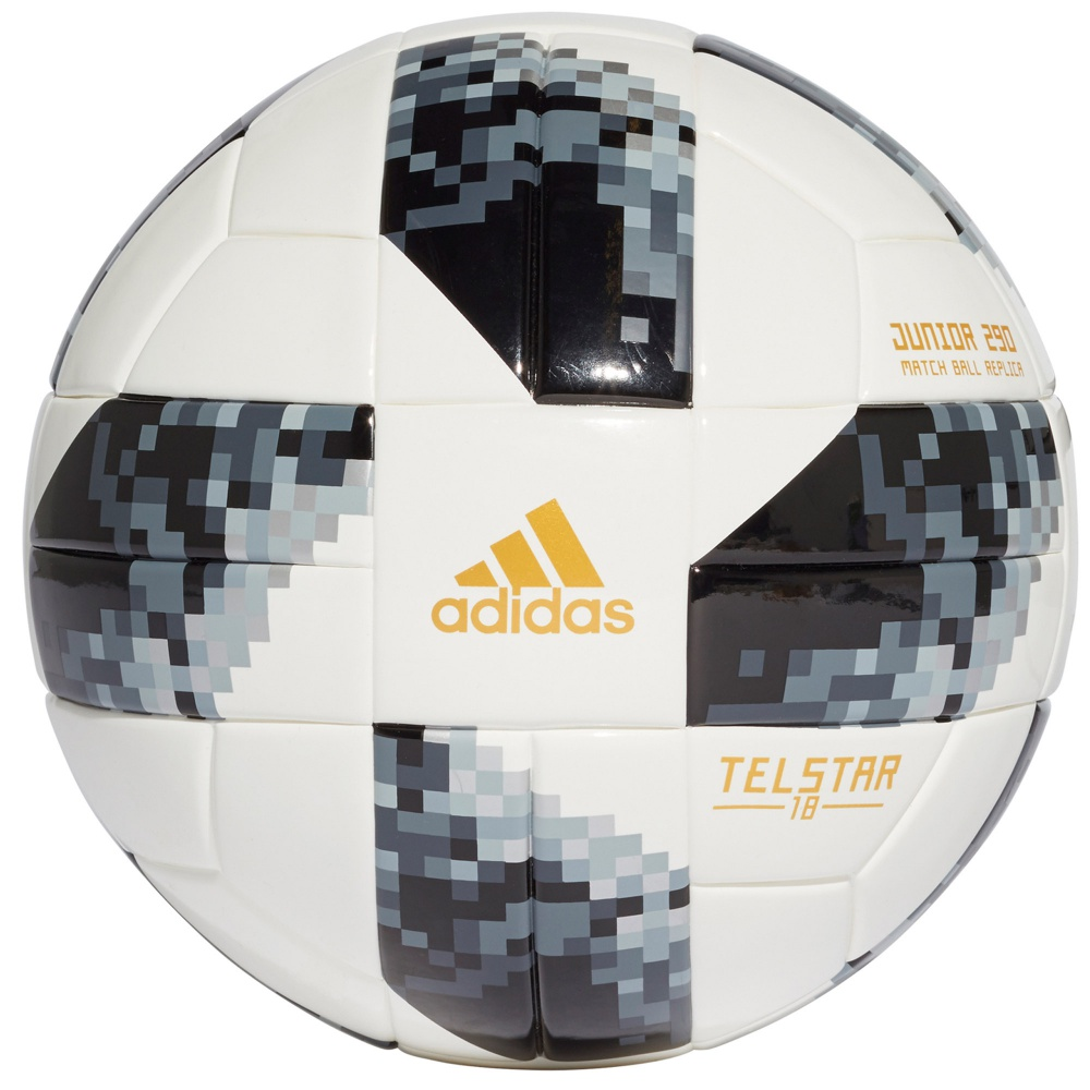 Piłka adidas Telstar World Cup 2018 J290 CE8147